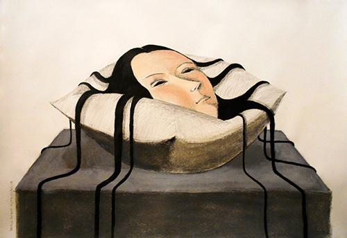 Peinture par Annie Kurkdjian / Painting by Annie Kurkdjian