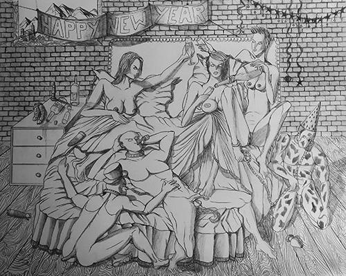 Œuvre # 1 / Artwork # 1 [Artimboldo]