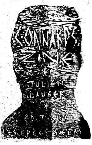 Couverture du livre Connards Zine par Julien Lauber