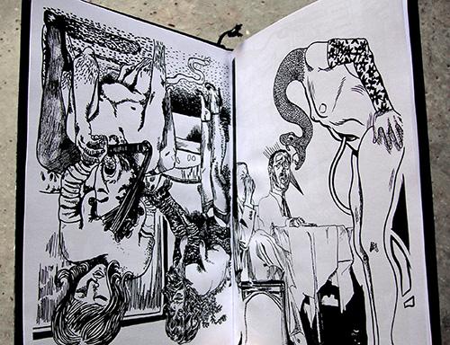 Quatrième extrait du livre Connasse Bananas par Sarah Fisthole & Julien Lauber