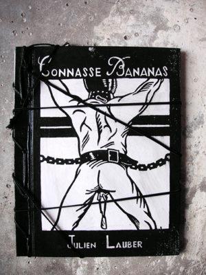 Couverture de Julien Lauber du livre Connasse Bananas par Julien Lauber