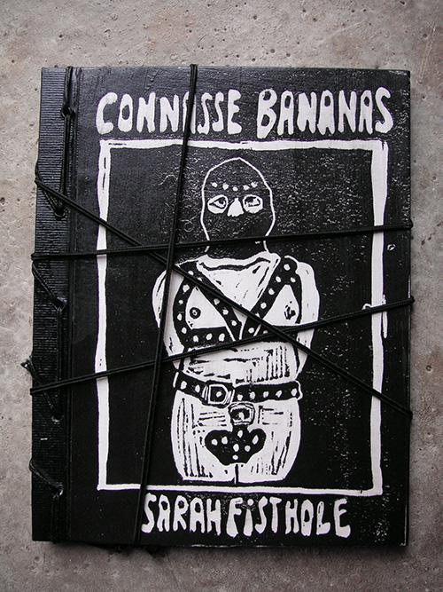 Couverture de Sarah Fisthole du livre Connasse Bananas par Sarah Fisthole & Julien Lauber