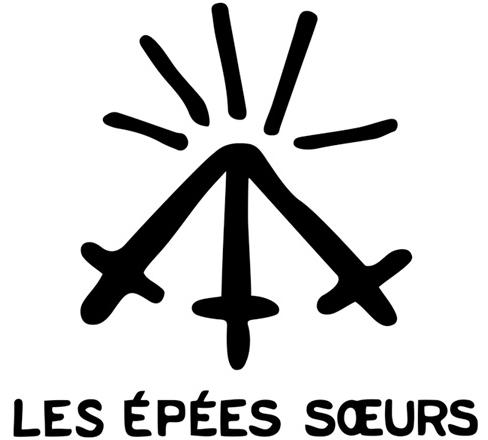 Logo Les Épées Sœurs par Julien Lauber